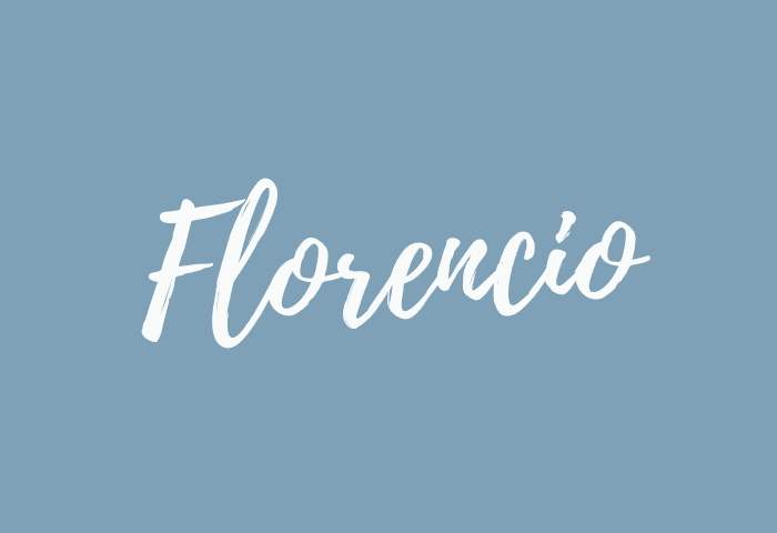 florencio name meaning