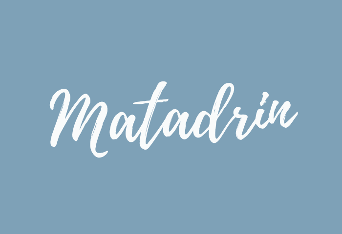 matadrin name meaning