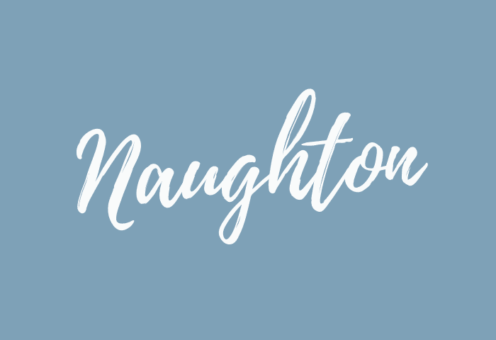 Naughton name meaning