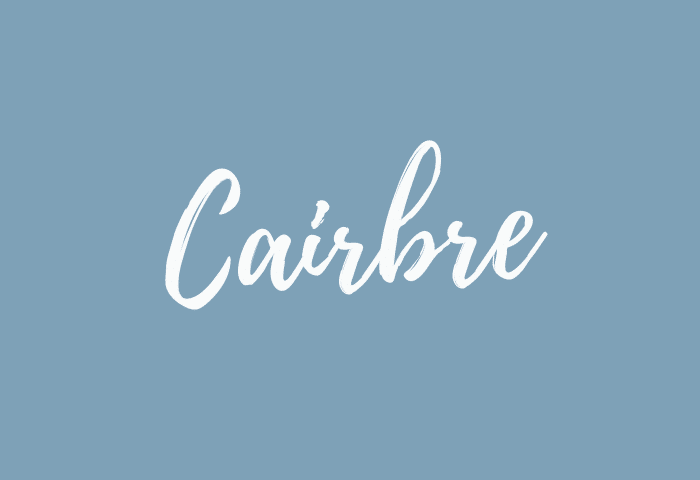 Cairbre name meaning