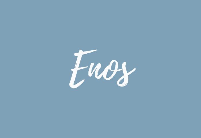 enos name meaning