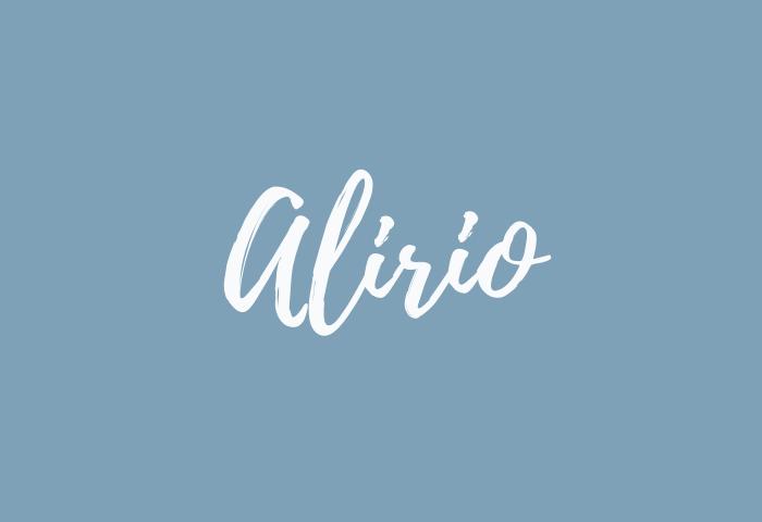 Alirio name meaning