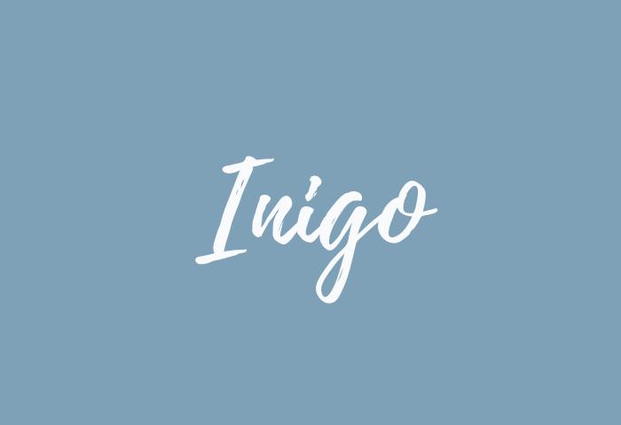 Inigo name meaning