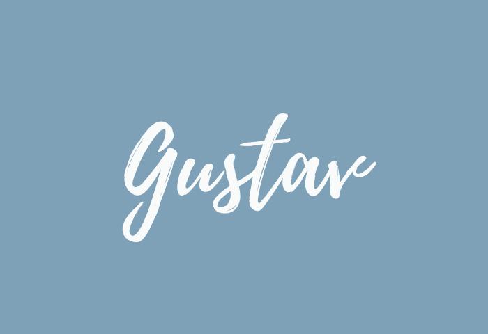 gustav name meaning