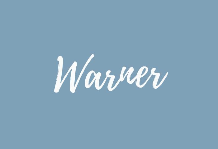 Warner name meaning