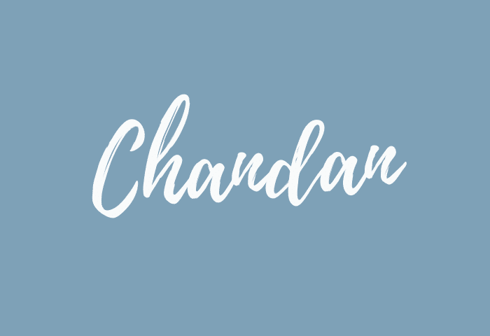 Chandan name meaning