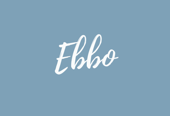 Ebbo name meaning