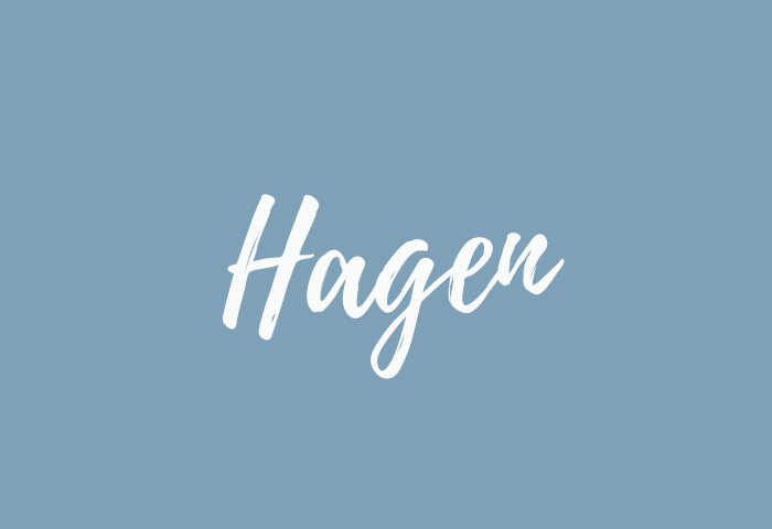 Hagen name meaning
