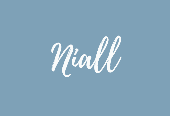 Niall name meaning