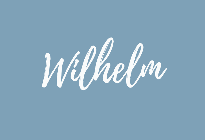 Wilhelm name meaning