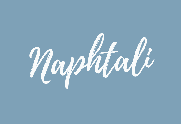 naphtali name meaning