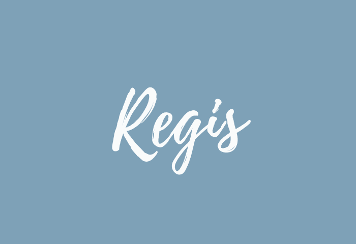 Regis name meaning