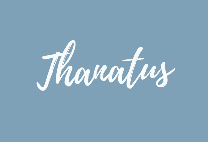 Thanatus name meaning