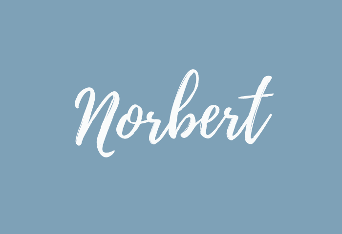 norbert name meaning