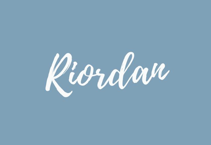 Riordan name meaning