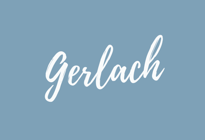 Gerlach name meaning