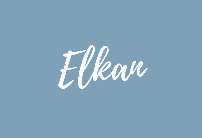 Elkan name meaning