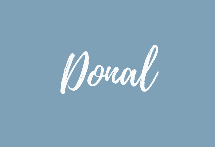 Donal name meaning