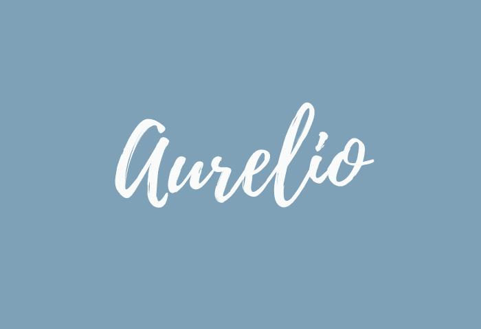 Aurelio Name Meaning