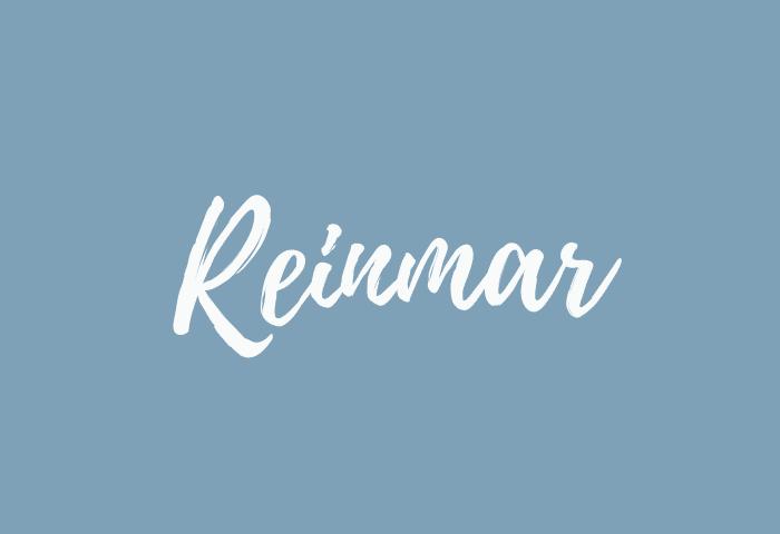 reinmar name meaning