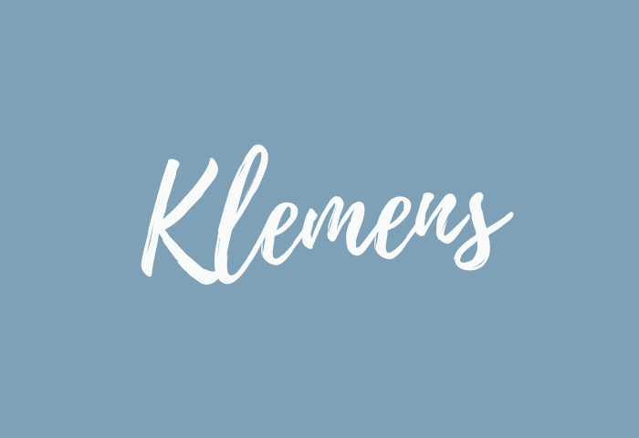 klemens name meaning