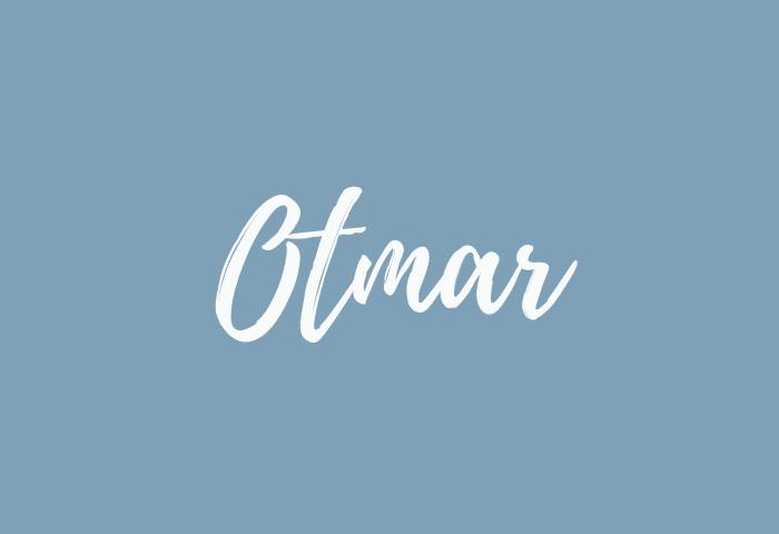Otmar name meaning