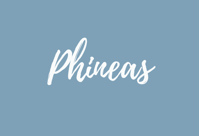 Phineas name meaning