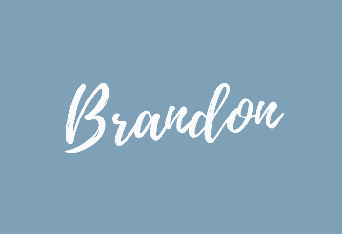 Brandon name meaning
