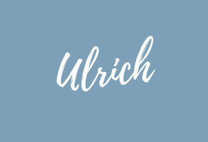 Ulrich name meaning