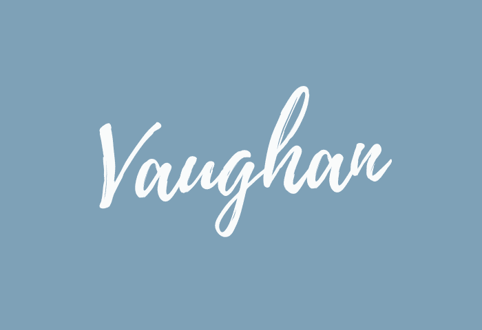 vaughan name meaning