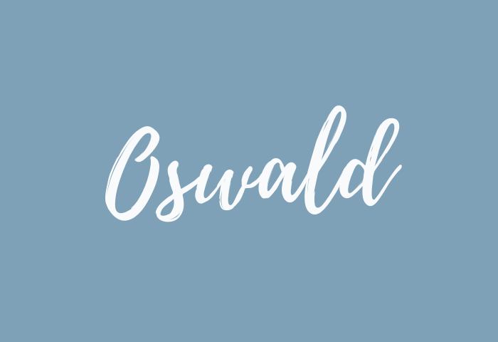 oswald name meaning