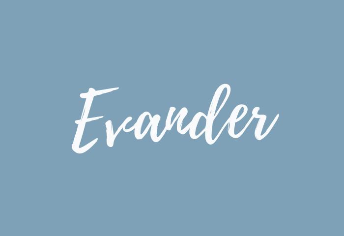 evander name meaning