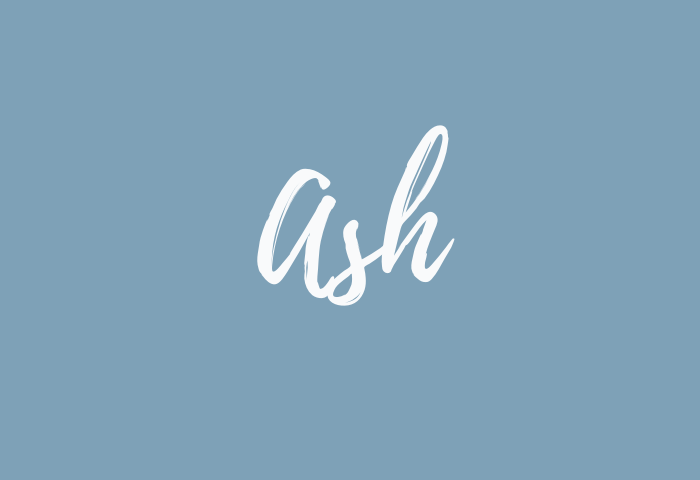 ash name meaning