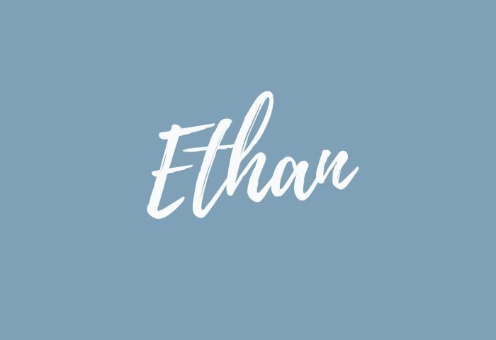 ethan name meaning