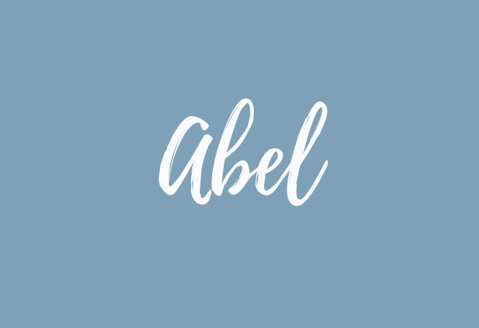 abel Name Meaning