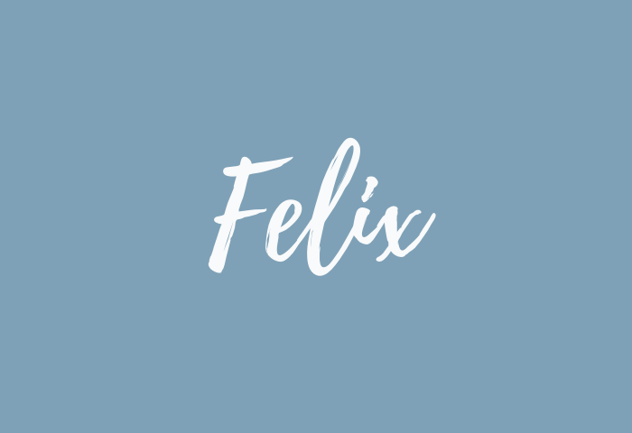 felix name meaning