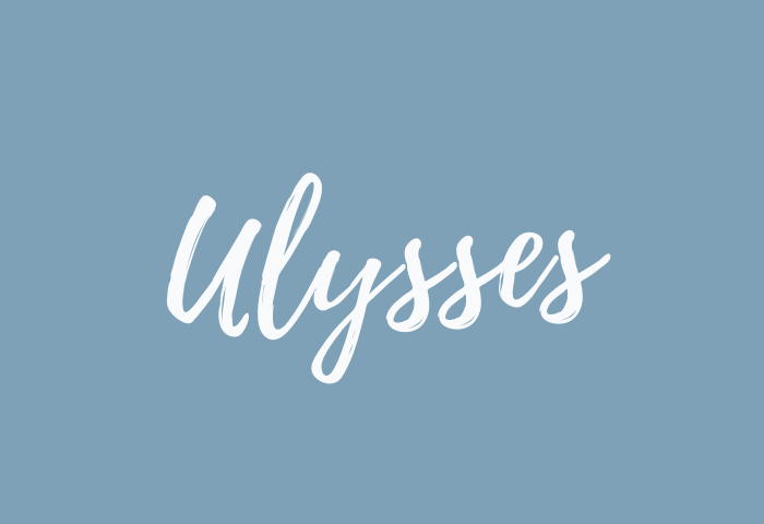 ulysses name meaning