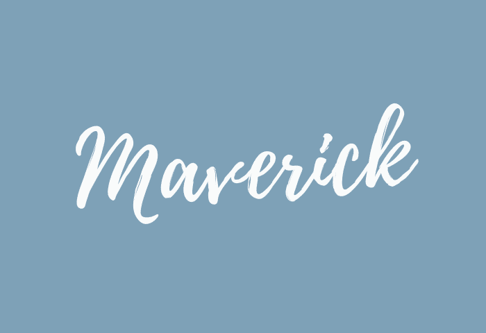 maverick name meaning