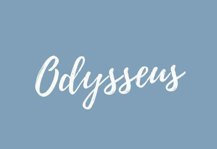 odysseus name meaning