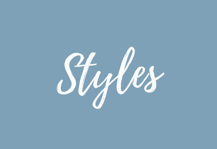 styles name meaning