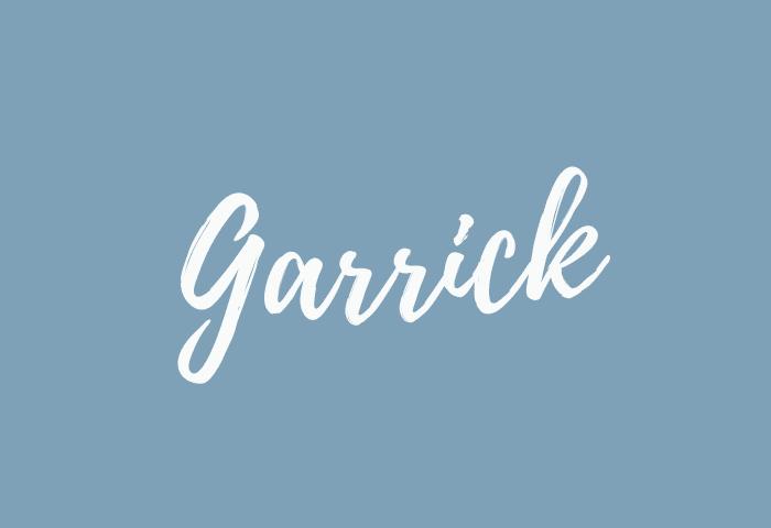 garrick name meaning