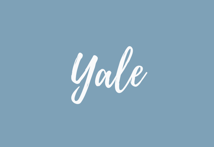 yale name meaning