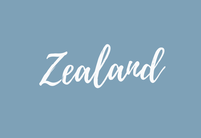 Zealand name meaning