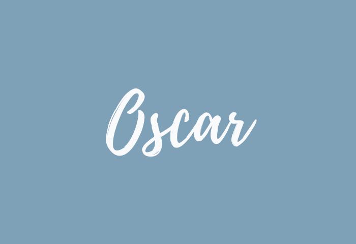 oscar Name Meaning