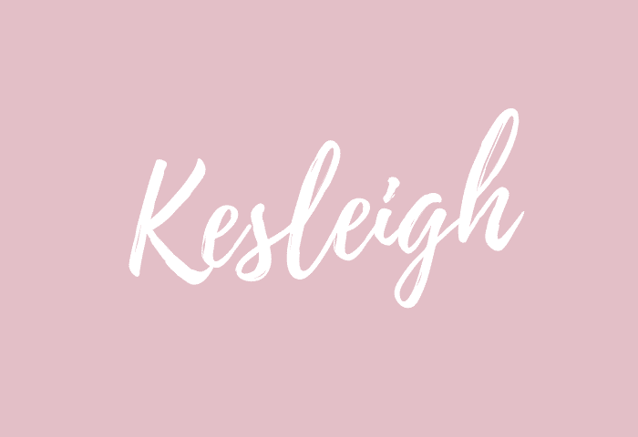 kesleigh name meaning