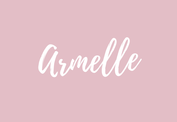 armelle name meaning