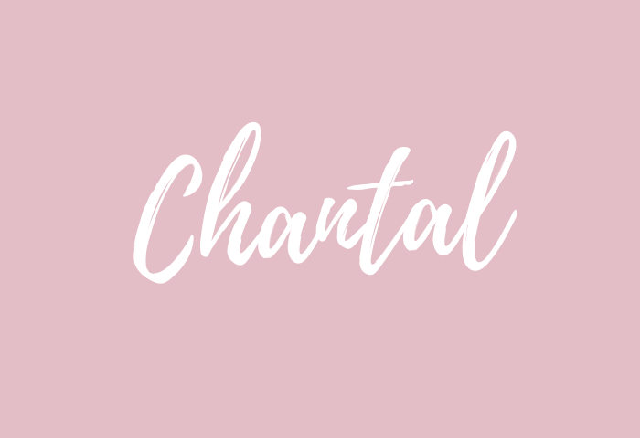Chantal Name Meaning