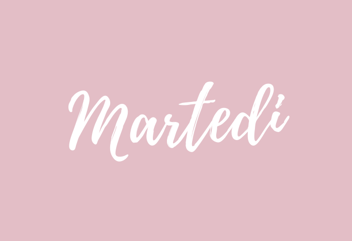 martedi name meaning