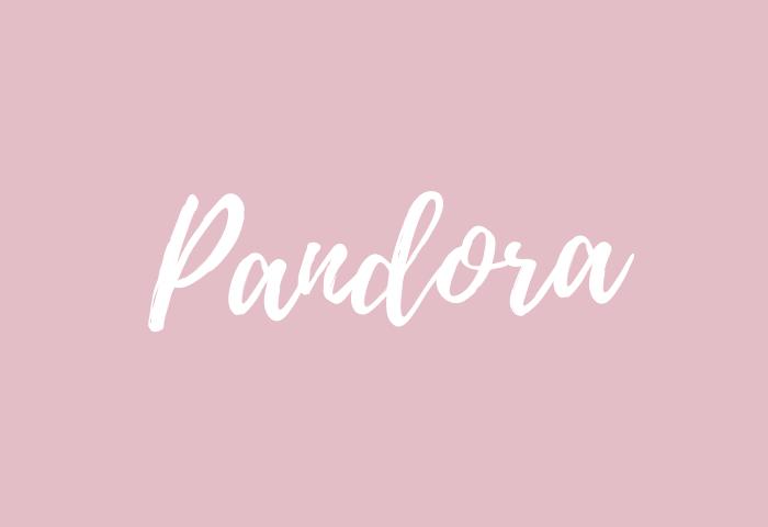 pandora name meaning