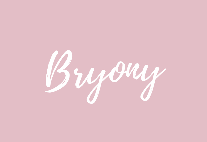 bryony name meaning